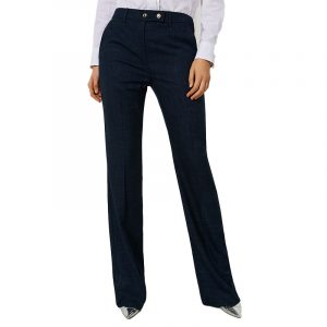 MARELLA GLAMIS FLARED TROUSERS 31361908-001-NAVY