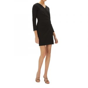 MARELLA MAGA JERSEY DRESS 36260206-001-BLACK