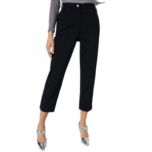 MARELLA RECESS CIGARETTE TROUSERS 37860807-001-BLACK