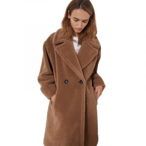 MARELLA ITRI DOUBLE-BREASTED COAT 39060208-001-CAMEL