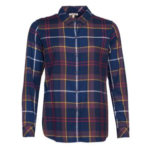 BARBOUR MOORLAND SHIRT LSH1352-NY73-BLUE
