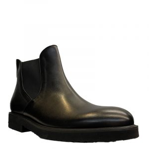 PERLAMODA LEATHER BOOTS 5669-BLACK