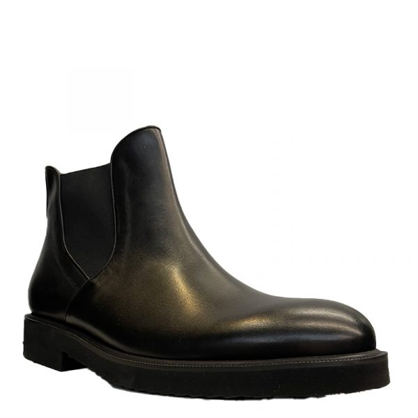 PERLAMODA LEATHER BOOTS 5669-BLACK
