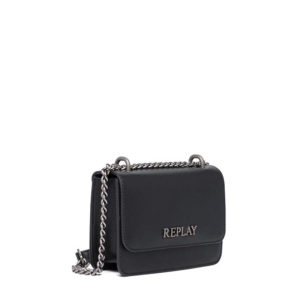REPLAY CHAIN CROSSBODY BAG FW3001.001.A0420-098-BLACK