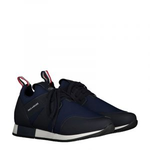 PAUL & SHARK LEATHER SNEAKERS I20P8000-013-NAVY