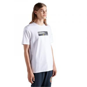 SUPERDRY CL TRANSIT T-SHIRT M1010343A-T7X-BRILLIANT WHITE