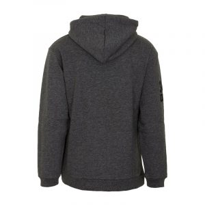SUPERDRY MONO URBAN HOOD SWEATSHIRT M2010452A-3JY-TWISTED BLACK GRIT