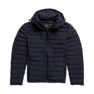 SUPERDRY HOODED FUJI JACKET M5010201A-49P-DARKEST NAVY