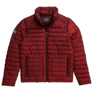 SUPERDRY DOUBLE ZIP FUJI JACKET M5010206A-3MK-CABERNET