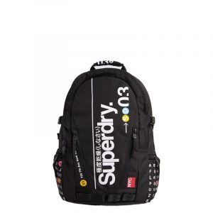 SUPERDRY NYC TARP BACKPACK M9110140A-02A-BLACK