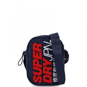 SUPERDRY MONTAUK SIDE BAG M9110178A-11S-NAVY