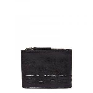 SUPERDRY PROFILE LEATHER WALLET IN TIN M92002TR 02A-BLACK