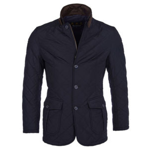 BARBOUR LUTZ QUILTED PADDED JACKET MQU0508-NY71-NAVY