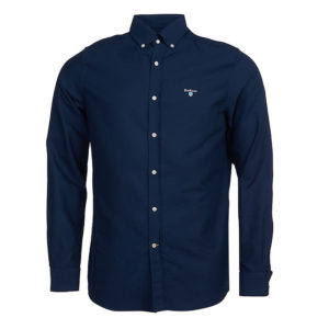 BARBOUR OXFORD 3 TAILORED SHIRT MSH4483-NY91-NAVY