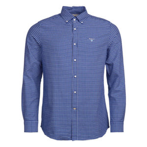 BARBOUR TATTERSALL 12 TAILORED SHIRT MSH4602-BL91-DEEP BLUE