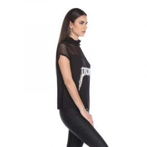 RELISH BELVINA T-SHIRT RDA2001120020-1199-BLACK