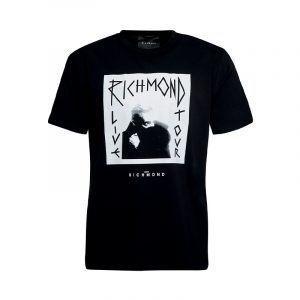 JOHN RICHMOND MALINS T-SHIRT RMA20125TS-BLACK