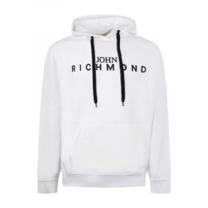 JOHN RICHMOND CEVEDALE AP SWEATSHIRT RMA20342FE-WHITE