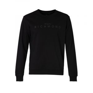 JOHN RICHMOND FELCIN AP SWEATSHIRT RMA20344FE-BLACK