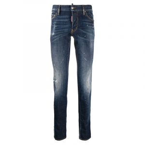 DSQUARED2 SLIM JEANS S71LB0775 S30342-470-BLUE