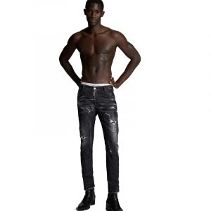 DSQUARED2 THUNDER STORM WASH JEANS S71LB0801 S30357-900-BLACK