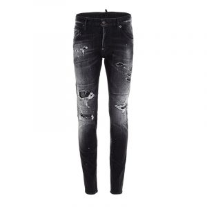 DSQUARED2 5 POCKET JEANS S71LB0841 S30503-900-BLACK