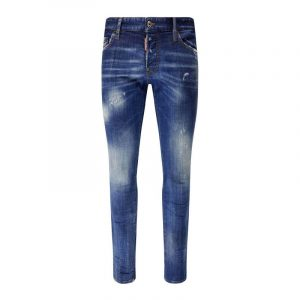 DSQUARED2 LOGO 5 POCKET JEANS S74LB0758 S30342-470-BLUE