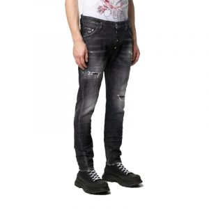 DSQUARED2 CLASSIC KENNY JEANS S74LB0782 S30357-900-BLACK