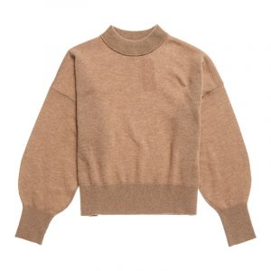 SUPERDRY WOOL CASHMERE CREW SWEATER W6110116A-3PG-SOFT CARAMEL MARL