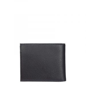EMPORIO ARMANI BI-FOLD W/COIN POCKET VITELLO WALLET Y4R167 YEW1E 80033-NAVY BLUE