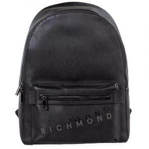 JOHN RICHMOND BOLIVAR BACKPACK RMA20319ZA-BLACK