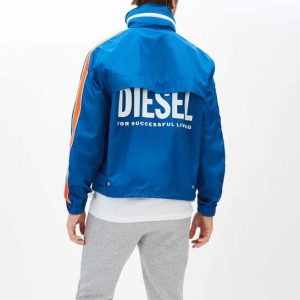DIESEL W-BROCK JACKET 00SEDL 0AAYQ-8II-BLUE ELECTRIC