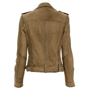 OAKWOOD PLEASE LEATHER JACKET 62988-506
