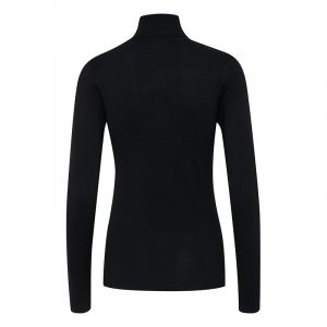ICHI NOOS IHMAFA SWEATER 103646-10001-BLACK