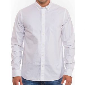 SCOTCH & SODA OXFORD REGULAR FIT SHIRT 145430-0006-WHITE