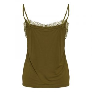 ICHI NOOS IHLIKE TOP 20106355-180627-FIR GREEN