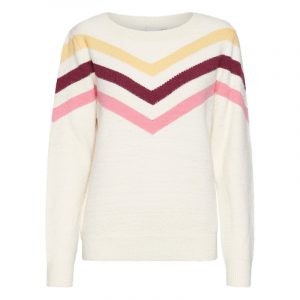 ICHI IHMELODY SWEATER 20112185-12012-TAPIOCA