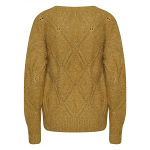 ICHI IHMADELIN SWEATER 20112191-170843-BRONZE MIST