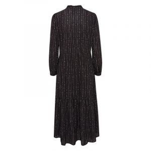 ICHI IHBASIA DRESS 20112446-194008-BLACK