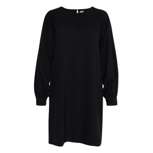 ICHI IHBANNE DRESS 20112535-194008-BLACK