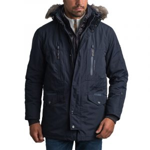 NAVY & GREEN JACKET 24WE.143/1-DK BLUE