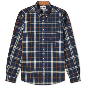 BARBOURHIGHLAND CHECK 20 SHIRT MSH4555BL33-NAVY