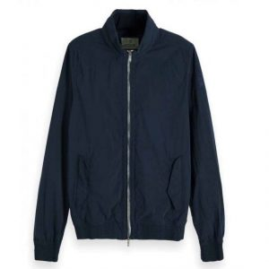SCOTCH AND SODA NYLON JACKET 148682-0002-NAVY