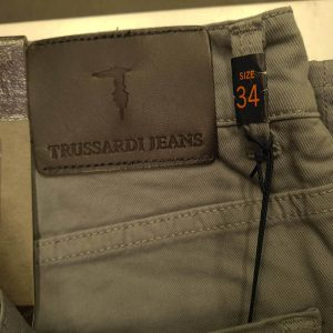 TRUSSARDI JEANS 380 ICON TROUSERS 525701-13-GREY