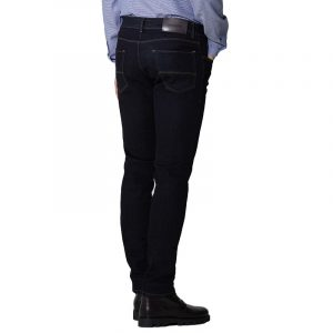 TRUSSARDI JEANS COTTON DENIM TWILL CLOSE 370 JEANS 52J00000-1T004457-U290-DARK BLUE