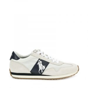 POLO RALPH LAUREN TRAIN SNEAKERS 809755192-003 WHITE