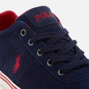 POLO RALPH LAUREN HANFORD-SK-VLC NWT CASTOR SNEAKERS 816641859-004 NAVY
