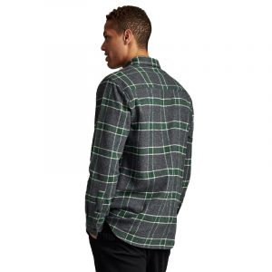 ANERKJENDT AKLOUIS CHECK SHIRT 9520023-0526-DARK GREY MEL