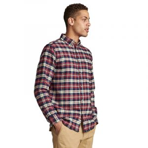ANERKJENDT AKLOUIS CHECK SHIRT 9520023-3059-SKY CAPTAIN