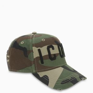 DSQUARED2 HAT BCM400105C00001 CAMOUFLAGE